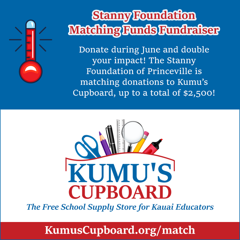 Stanny Foundation Matching Grant Fundraiser