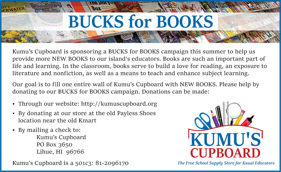 Bucks for Books Flyer