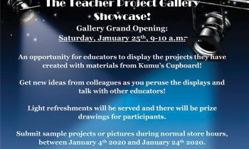 The 2020 Teacher Project Gallery Showcase